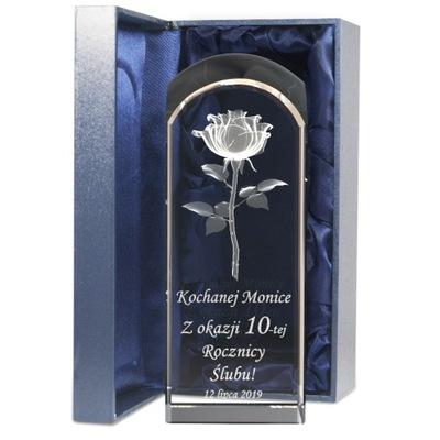 Výročie darček Svadobné Ruže s nápisom