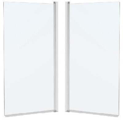 Sprchové dvere - CREATIVE SCREEN CRISTAL 80x140 TRANSPARENT