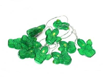 LED svietidlá GIRLANDA - GIRLANDA LED Ledowe lampki KAKTUSY plastic cotton