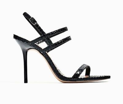 4d539198767182 Szpilki sandały Zara 36 wysokie rewelacja - 7680966565 - oficjalne ...