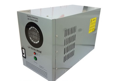 Núdzový zdroj napájania ZA-TECH-2400 2 500 W.