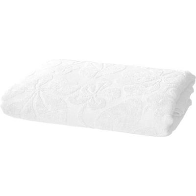 Plážová osuška, osuška - Ręcznik plażowy 175x220 prześcieradło frotte biały