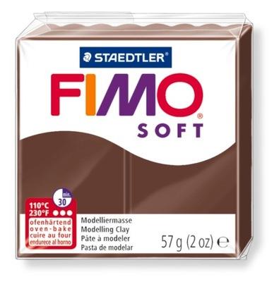 Масса Пластическая FIMO Soft 57g Шоколадный 75