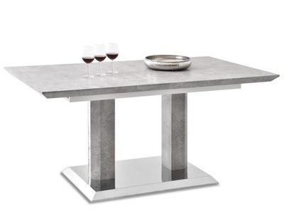 итальянский стол ?????????? БРЕССО бетон центральная НОГА