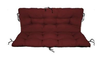 подушка на скамейку садовую качели 150x60x50 bord