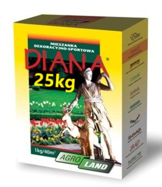 Tráva DIANA 25 kg VOĽNÝ čas trávne semená AgroLand