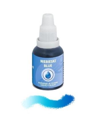 Пищевые красители в жидкости - Синий - 20 мл