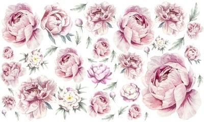 PIVONKY kvetov PIVONKY stenu Odtlačkový 200x120