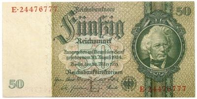 Niemcy - BANKNOT - 50 Marek 1933 - emisja 1941