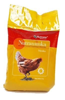 Nutraminka несушка 2кг витамины для кур птицы