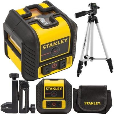 Laserový merač - STANLEY CROSS LASER POZIOMICA + STATICKÝ KRYT 90