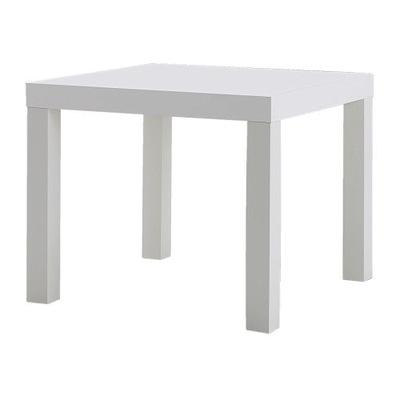 Икеа ЛАКК столик 55x55 см стол кофе скамья Белый