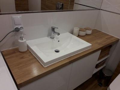 Blat Pod Umywalkedo łazienki Dębowyłazienkowy