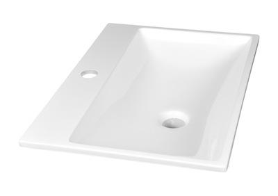 Umývadlo Malé umývadlo vstavané tenké 50x36 pre kúpeľňu