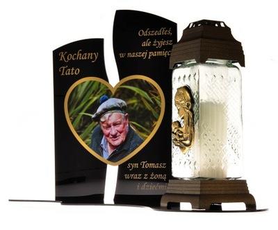 Socha na hrob Stojan pod sviečky 30 cm XXL