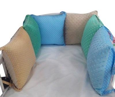 протектор instagram пенс с трикотаж кроватка