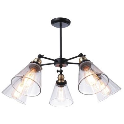 Svietidlá - Závesné svietidlá - LAMPA SUFITOWA WISZĄCA KAJA SAMANTA INDUSTRIALNA