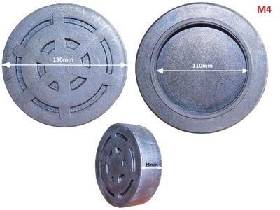 GUMOWA NAKŁADKA NA ŁAPY ŁAPĘ PODNOŚNIKA 110 mm