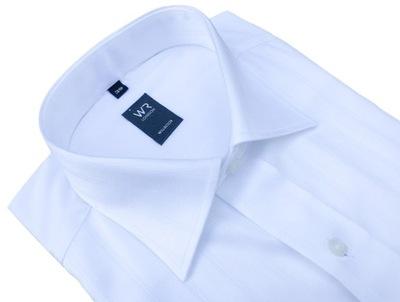 WILLSOOR Koszula Biała Spinki 100% Baw 188 194, 41  48EGg