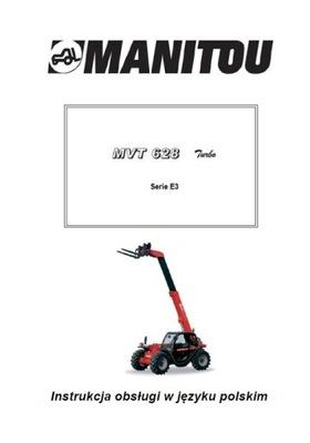MANITOU MVT 628 T SERIE E3 - ИНСТРУКЦИЯ PL