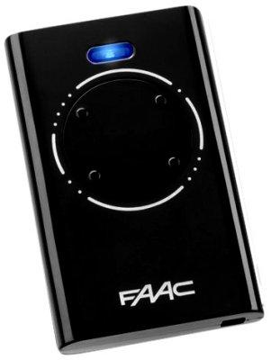 FAAC пульт 4 -Instagram XT4 868 Мгц Черный
