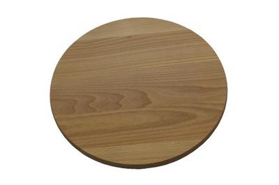деревянная доска под пиццу круглая fi 35