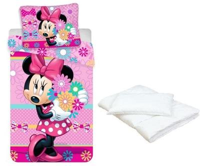 Sada na posteľ - Minnie Mouse MICA jasličky lôžkoviny 120x150 DOTÁCIE