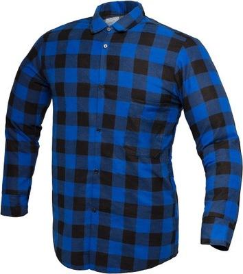 Koszula flanelowa robocza OCIEPLANA zimowa S 6927324918  xOX7K