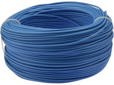 Kábel, drôt, kábel LGY 0,75mm2 modrá 100m