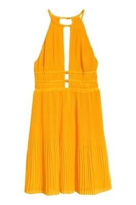 2abf955e5c H M sukienka M żółta groszki lato - 6329313547 - oficjalne archiwum ...