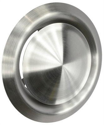 Anemostat ventil vetranie 100mm CHROME, INOX
