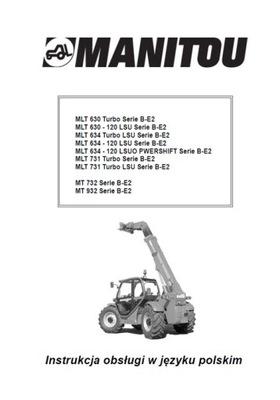 MANITOU MLT 630... SERIE B-E2 - ИНСТРУКЦИЯ PL