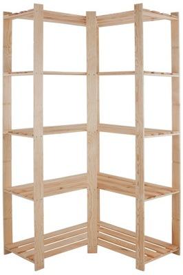 Стеллаж деревянный B -20 170x85x38 5 книжных шкафов