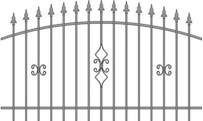 Pozastavené pokrýva plotu JOSIE 2