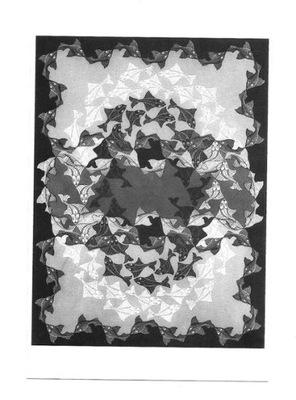 П / я. - ? .C . Эшер, Рыба - графика симметричная