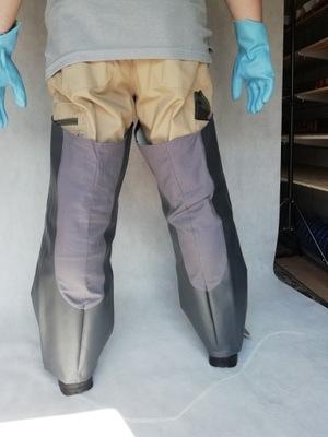 брюки posadzkarskie ЛЕТНИЕ, nogawice, mixokret