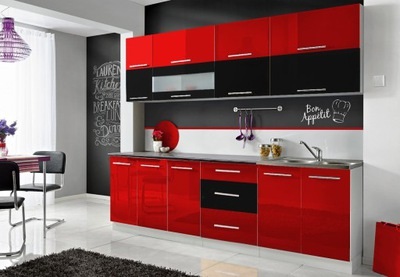 Мебель Кухонные Моника N - ЦВЕТ блеск ???
