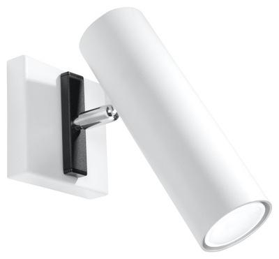Svietidlá - Nowoczesna LAMPA ŚCIENNA Kinkiet DIREZIONE Biały