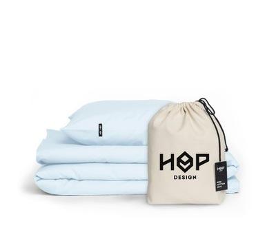 Obliečky bavlna 200x200 a 2x70x80 Modrá