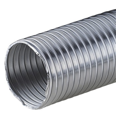 Potrubie, rúra, spona - AWENTA TUBE ALUMINIUM FLEX SPIRO 120 3m