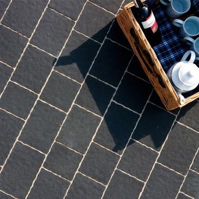 кубик тротуарная плитка ARKADIA Графит как ТРЕНТО вся
