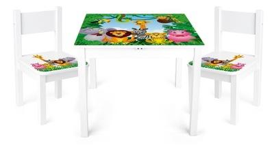 Столик + 2 Стульчики Yeti Животные 102/244159B