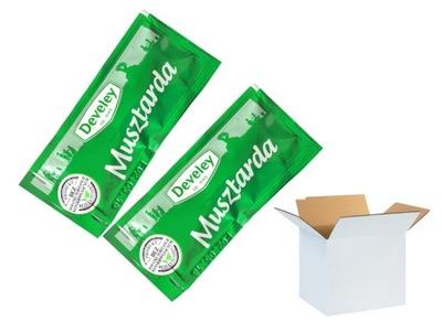 Горчица в пакетиках Develey 12g x 50 штук