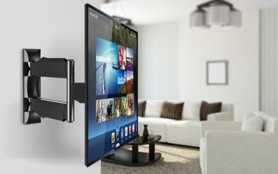 mocny obrotowy uchwyt TV LCD,plazma 32-52cali,32kg