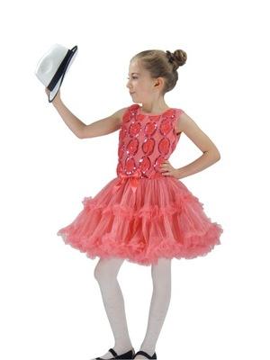 sukienka taniec sesja  SK943 SHINING ROSE   4-5lat
