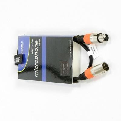 Przewód kabel mikrofonowy sygnałowy 1 metr XLR 1m