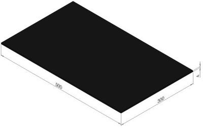 плита instagram маслостойкая резинка NBR 4x300x500 мм