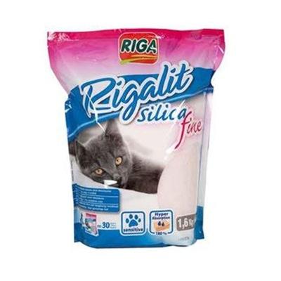 Riga Rigalit Fine Silica 4l мелким щебнем силикон .