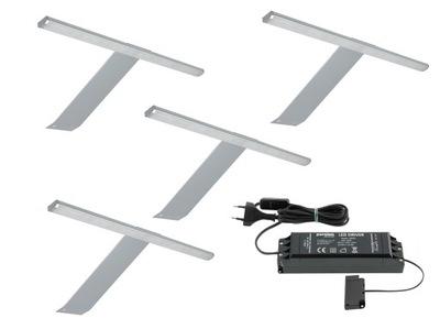 KPL4x Lampa nábytok GAMA nadszafkowa LED+zdroj napájania