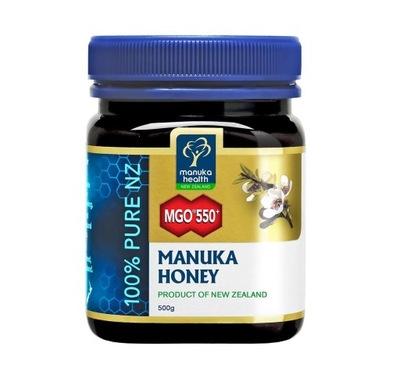 МЕД MANUKA Health 550+ MGO 500 г +